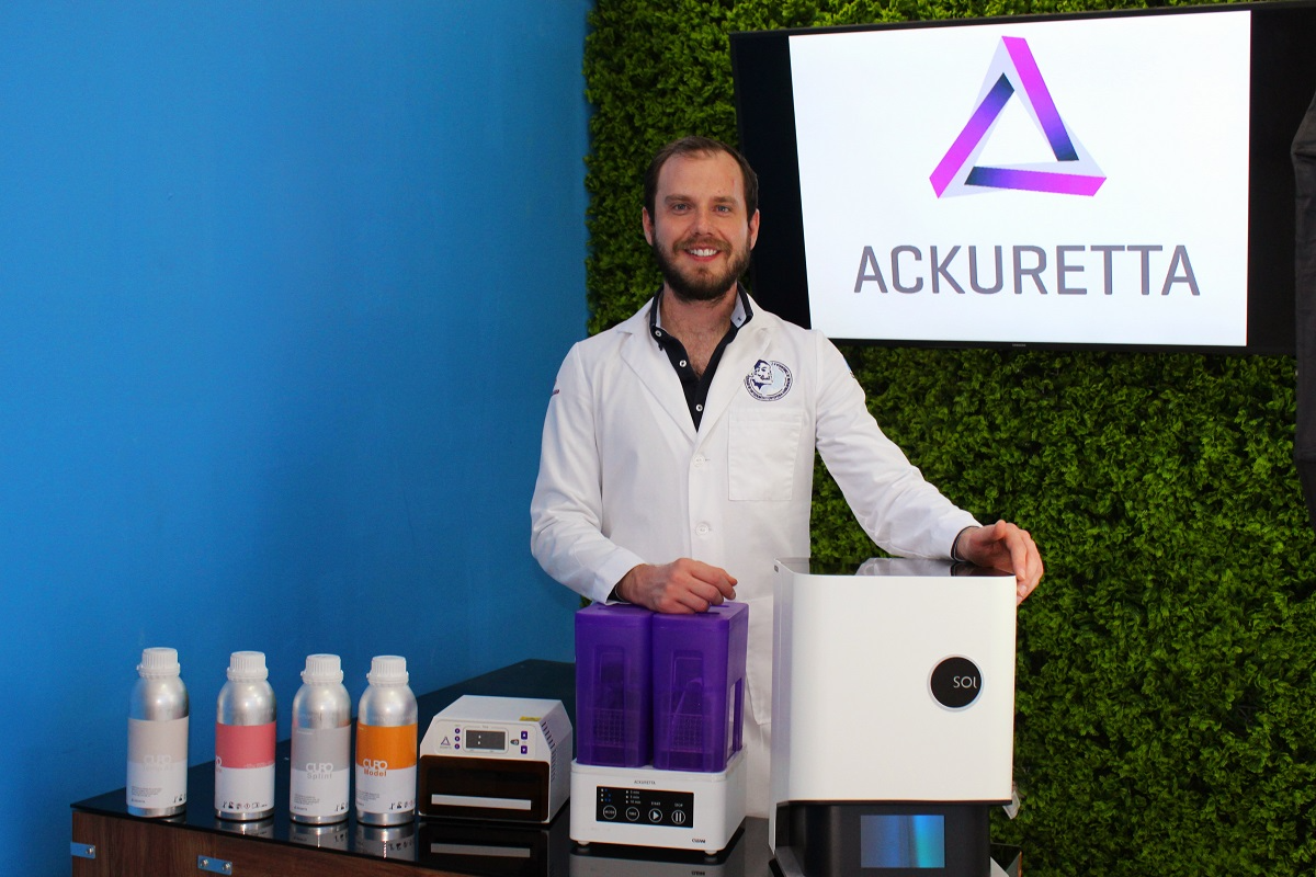 Dr. Fermin Ocanas and his Ackuretta 3D printing solution