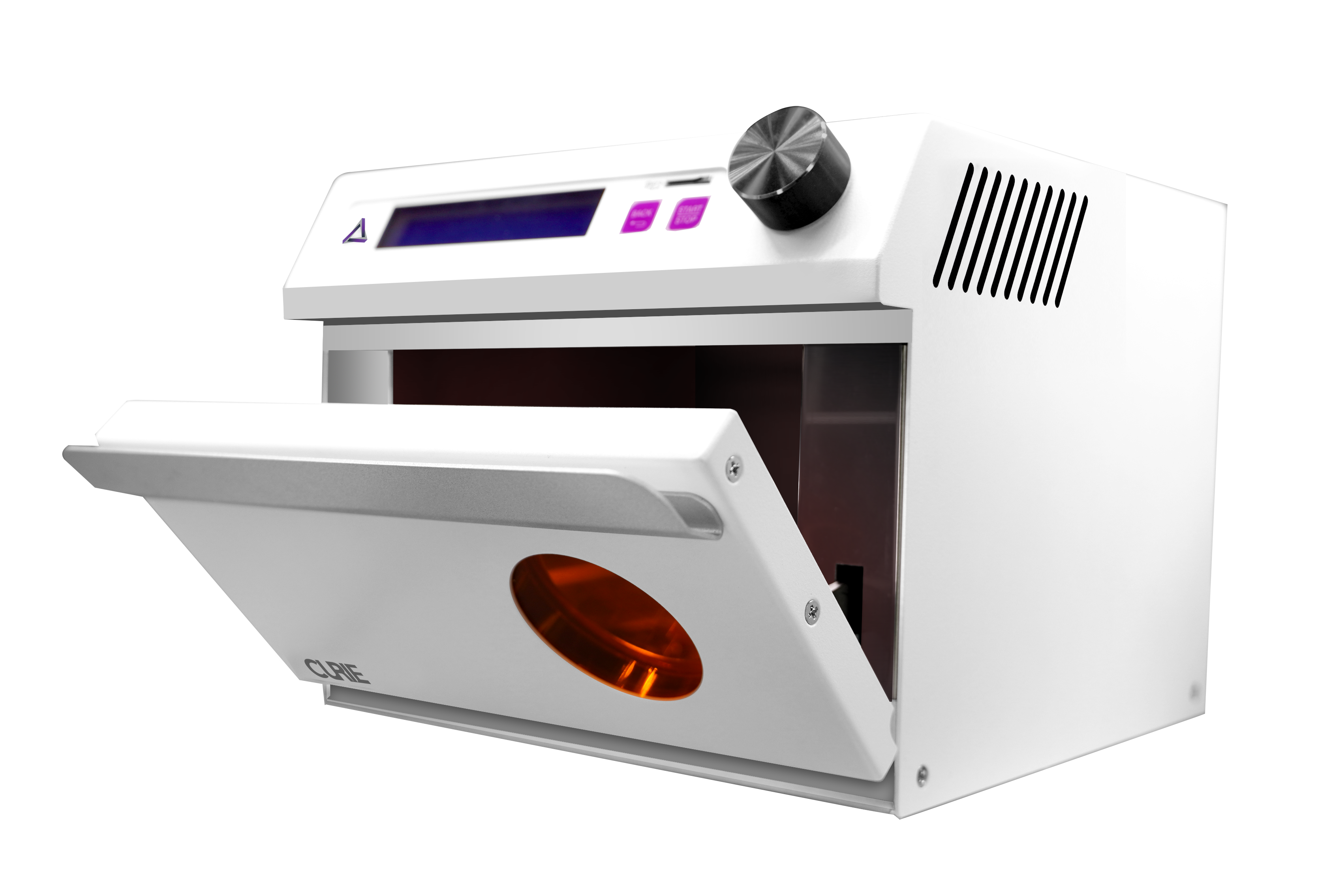 CURIE class 2 uv oven for biocompatible 3D prints