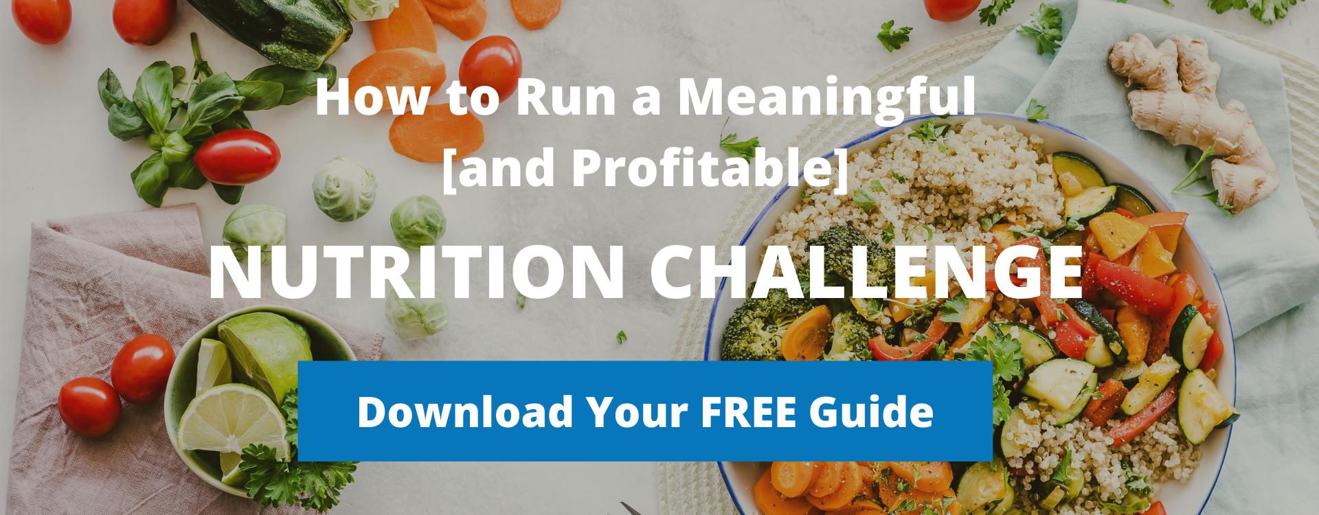 Nutrition Program Athletes