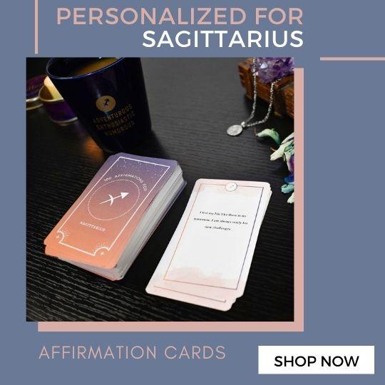 Sagittarius Affirmation Cards