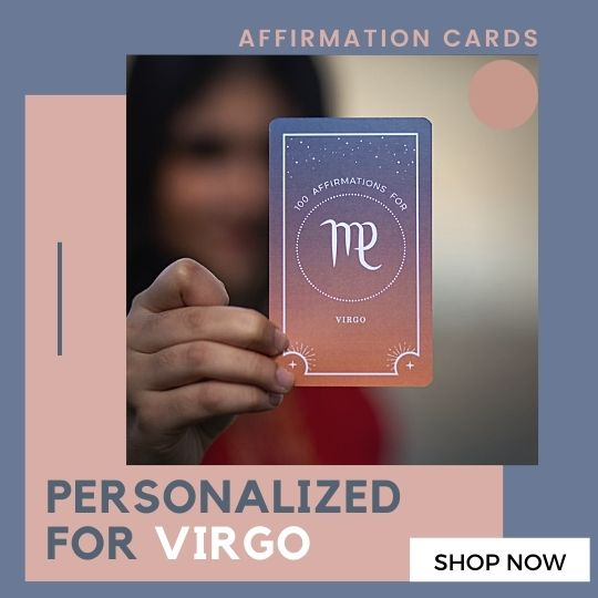 Virgo Affirmation Cards