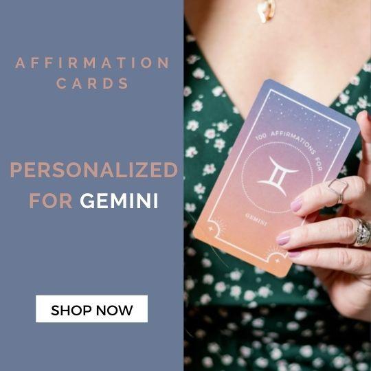 Gemini Affirmation Cards