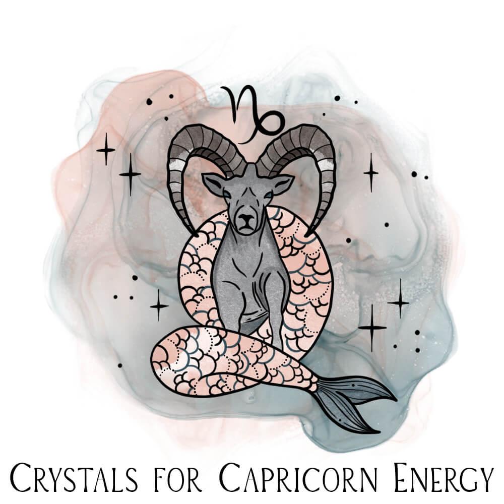Crystals for Capricorn Zodiac Energy