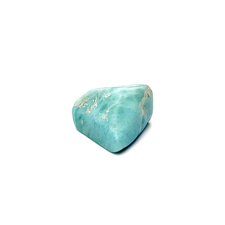 Larimar tumbled stone Ancient Element Creations