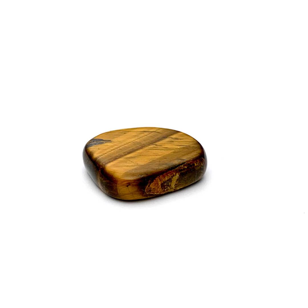 tiger eye mini palm stone Ancient Element Creations