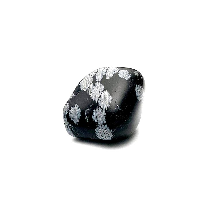 snowflake obsidian tumbled stone Ancient Element Creations