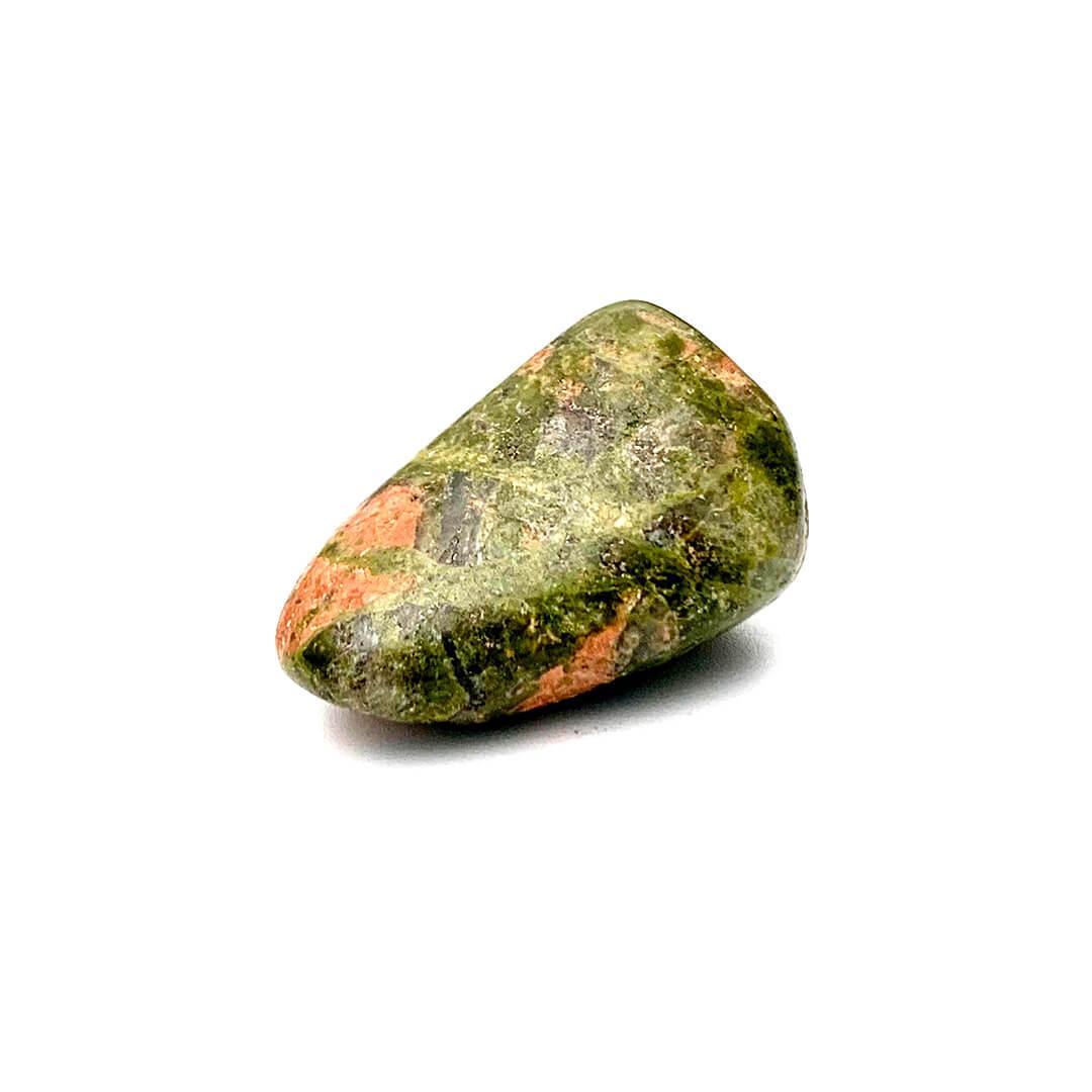unakite jasper tumbled stone Ancient Element Creations
