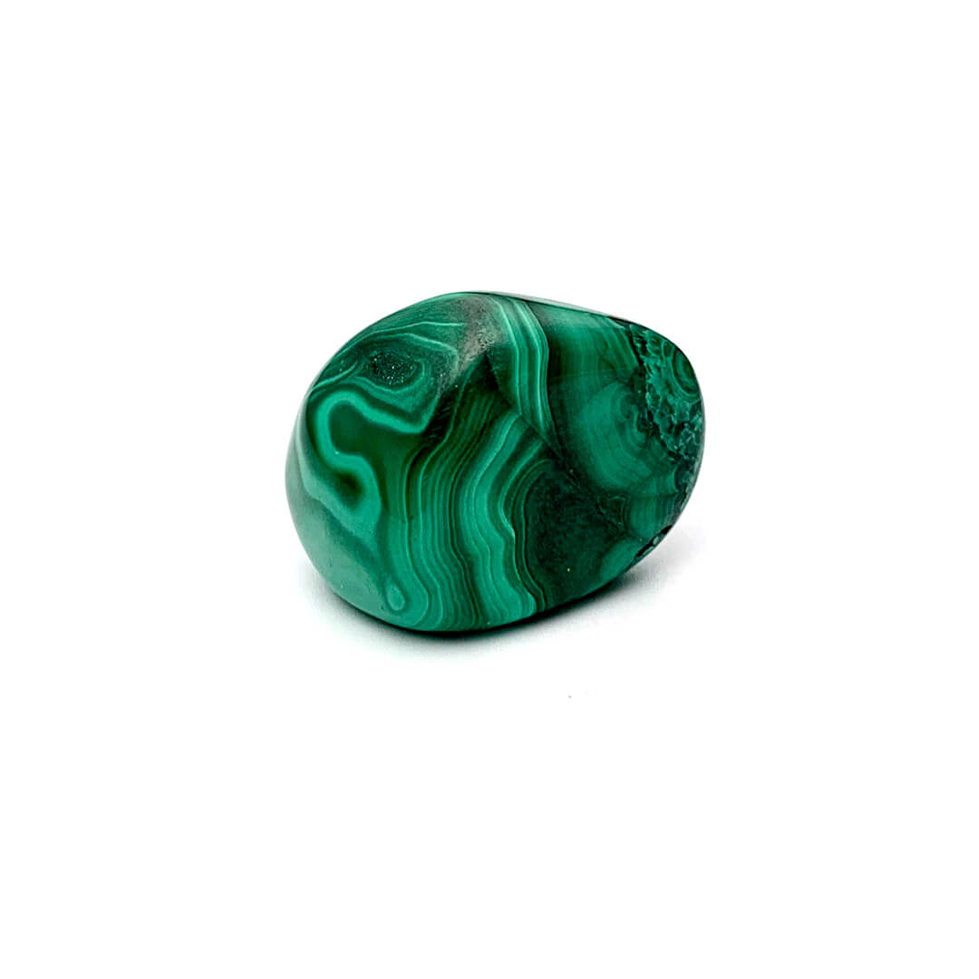 Malachite tumbled stone Ancient Element Creations