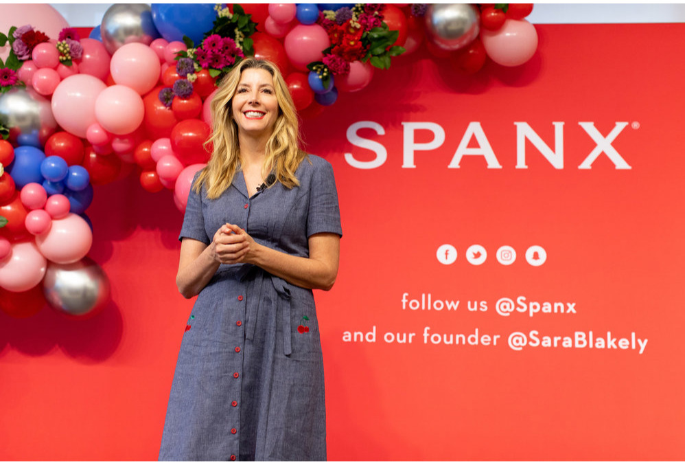 Link to Spanx's Elevating Women Page
