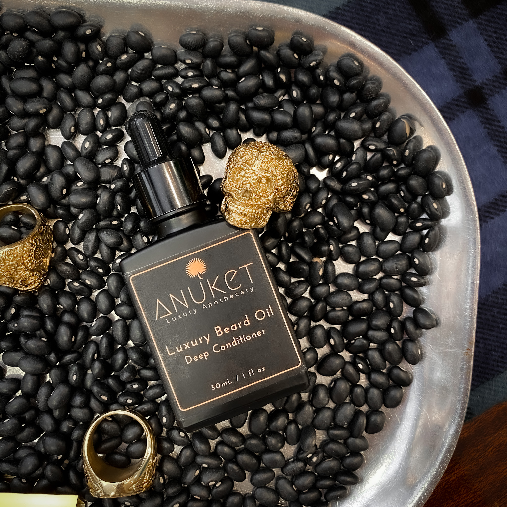 Link to Shop Anuket Luxury Apothecary's Deep Conditioning Luxury Beard Oil