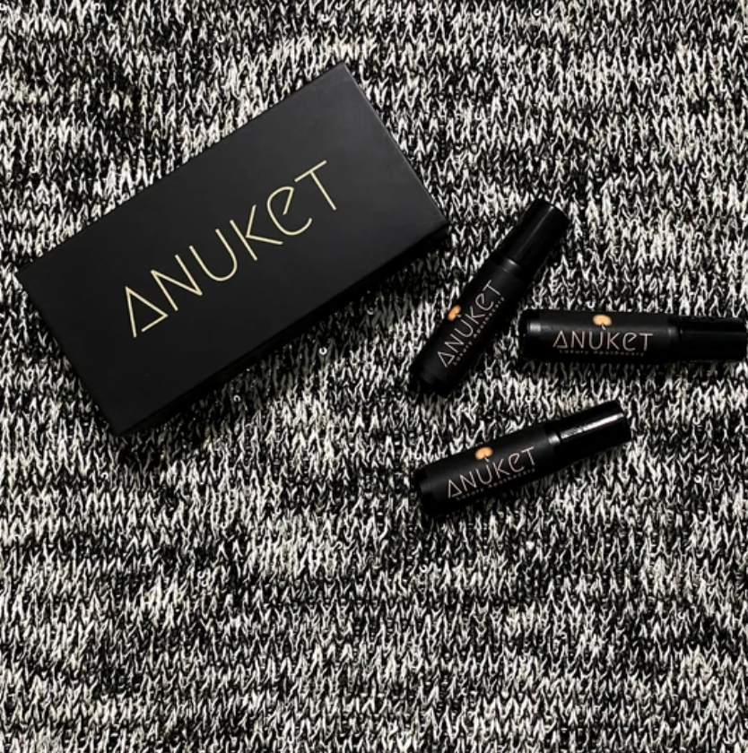 Anuket Collection Gift Set, Three Fragrance bottles and box