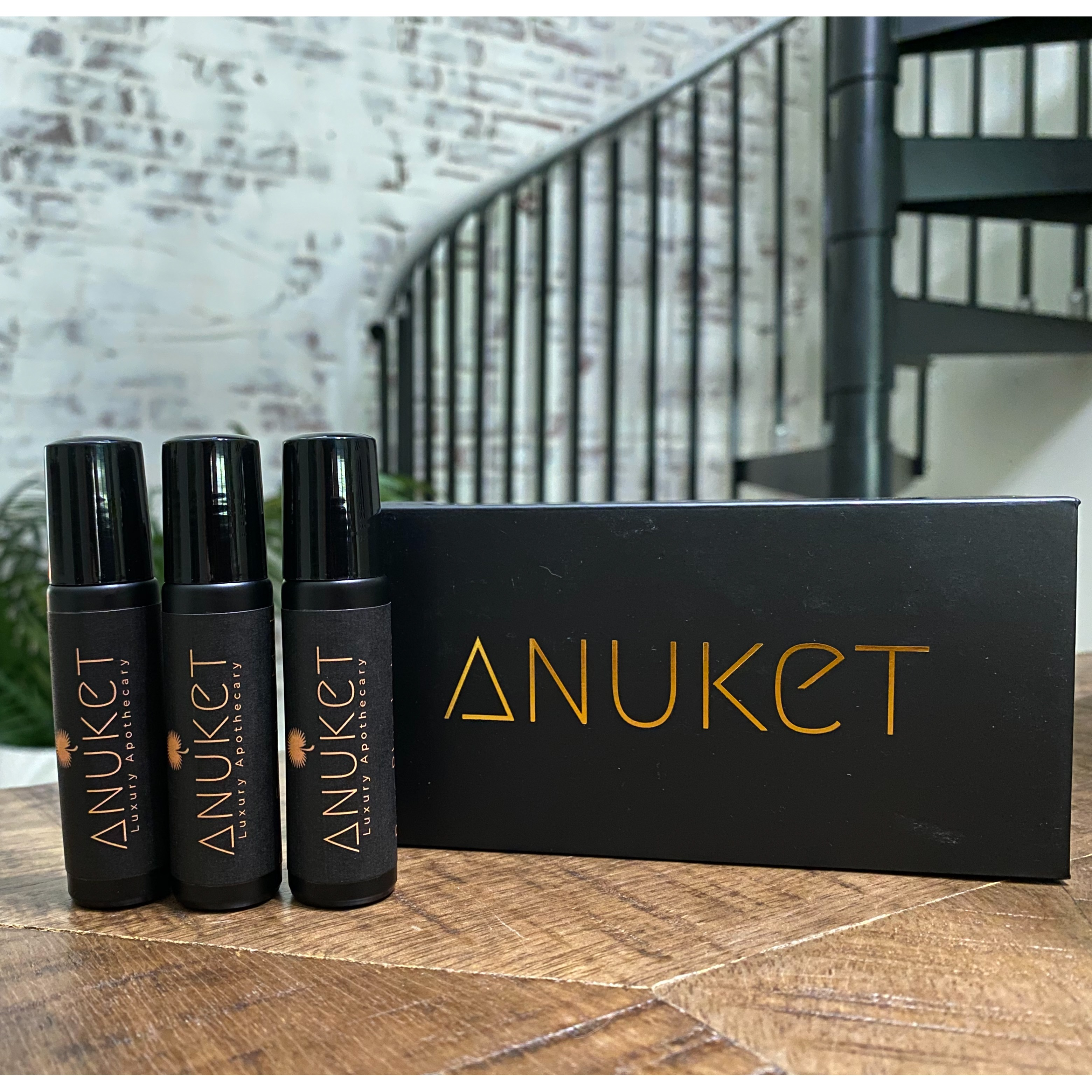 Link to Shop Anuket Luxury Apothecary's Limited Edition Signature Fragrance Collection Gift Set