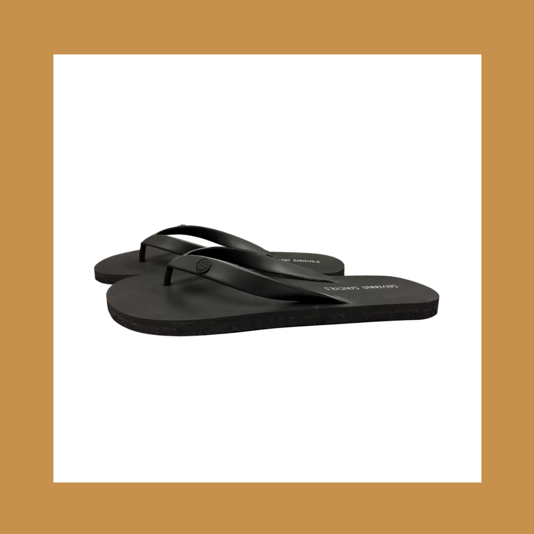 Link to Shop Savanna Sandals Black Men's Flip Flops