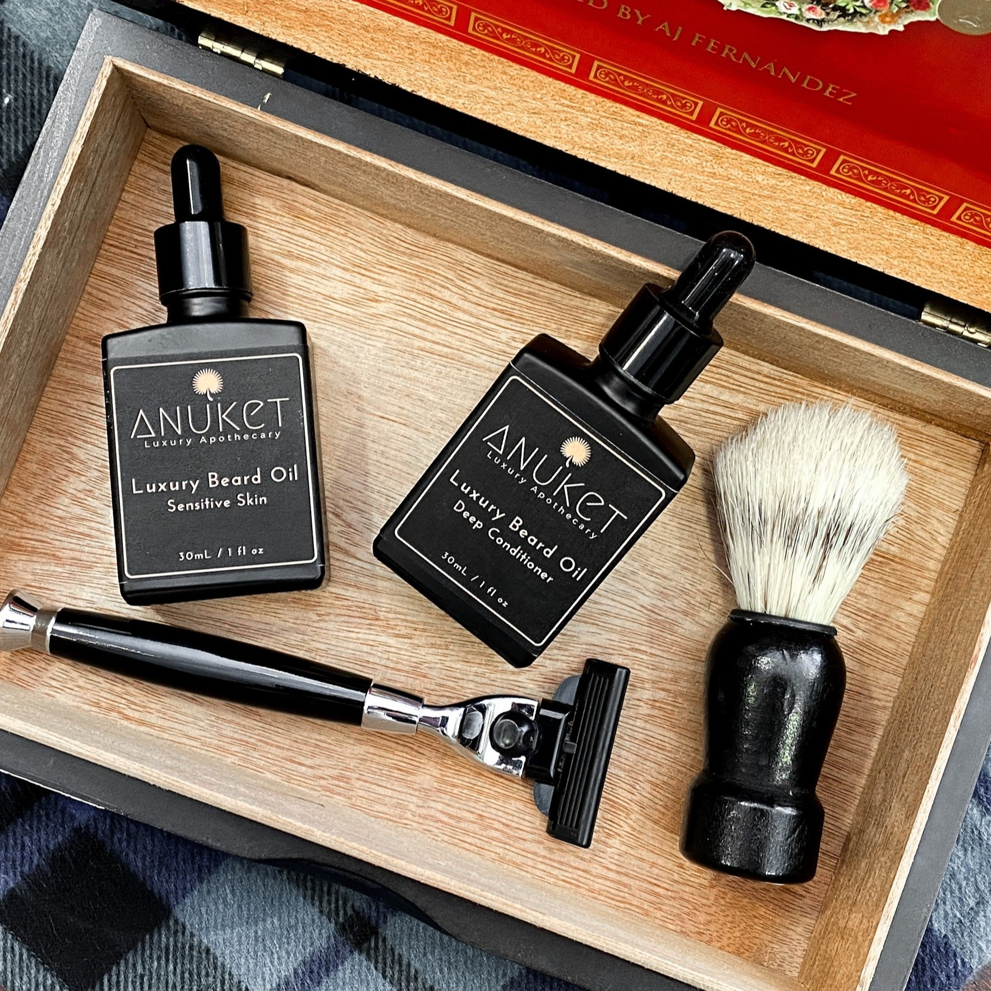 Link to Shop Anuket Luxury Oil new beard care products
