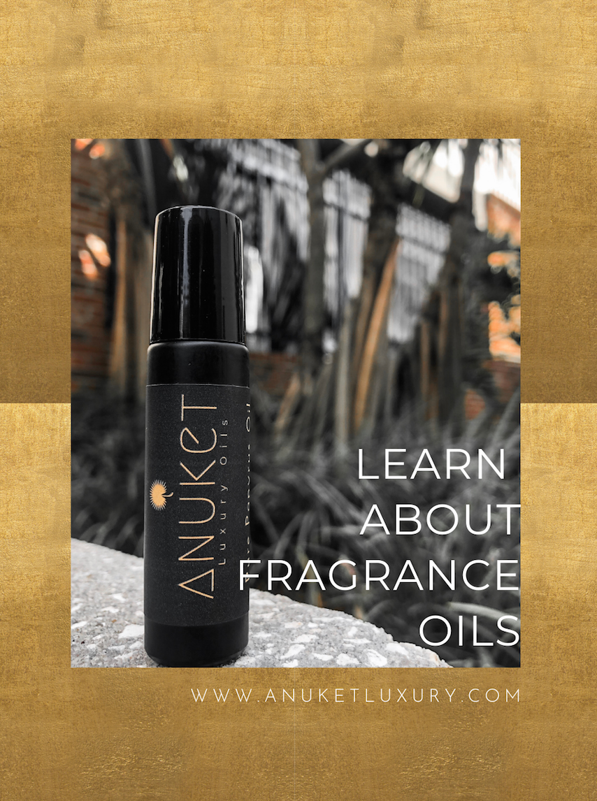 Pinterest graphic created for Anuket Luxury Apothecary's signature scent