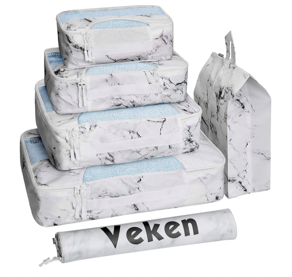 Veken packing cube for suitcases available on Amazon