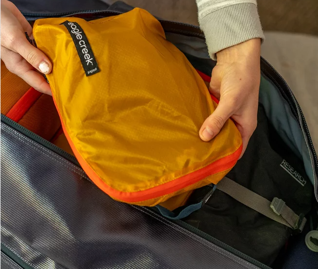 Link to Shop Eagle Creek's Ultralight Compression Packing Cubes