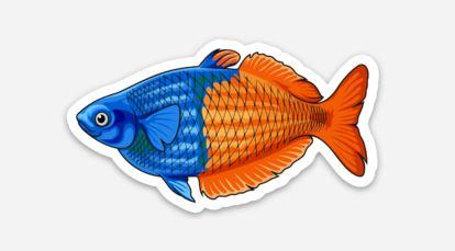 Rainbowfish Sticker