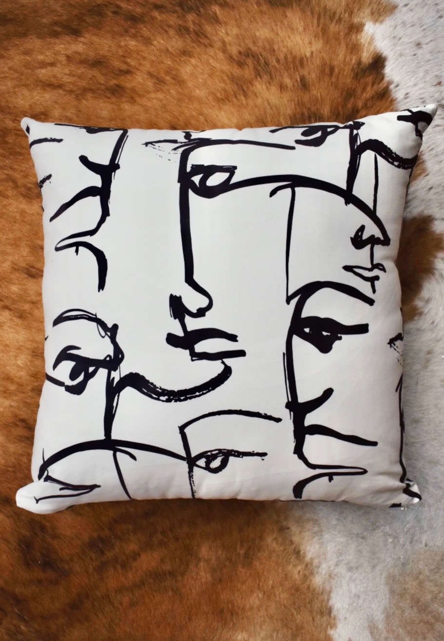 Two Faced Pillow