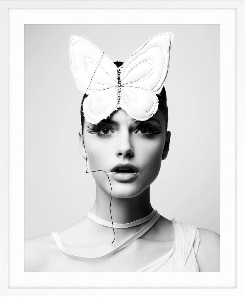 BUTTERFLY GIRL By LIZ VON HOENE
