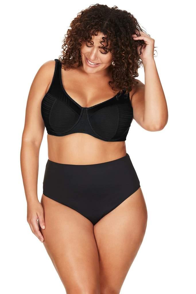 Aria Black Giotto Underwire Bikini Top