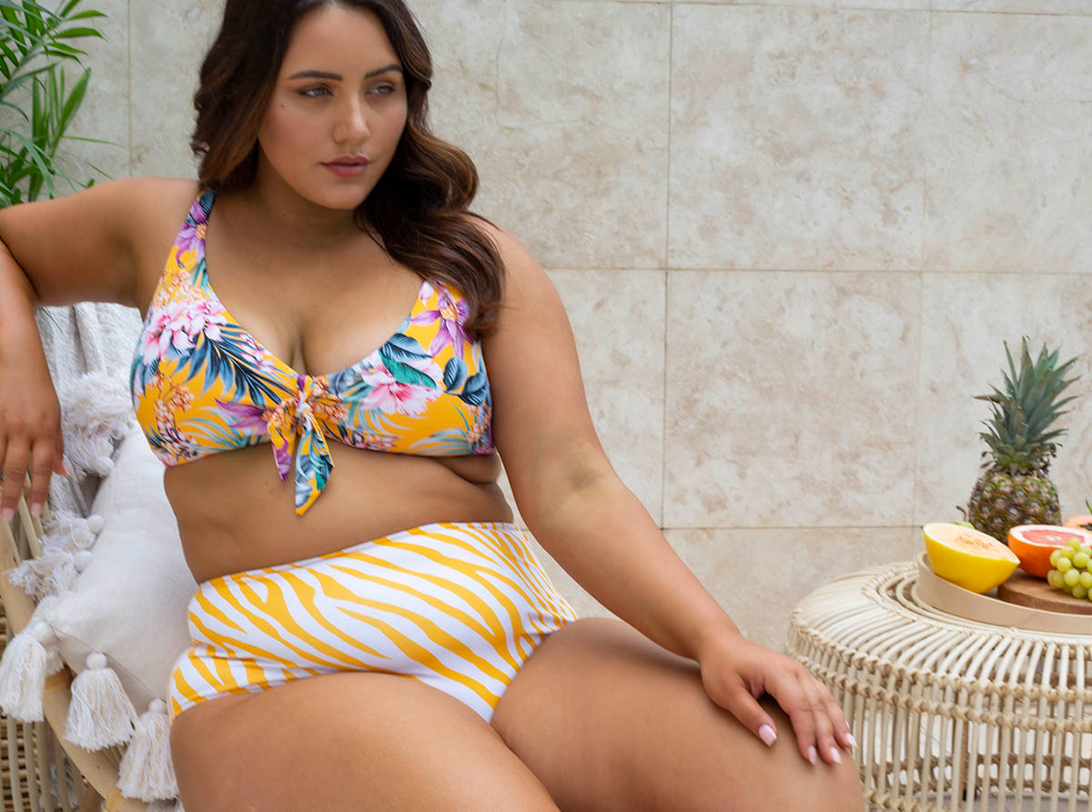 Artesands Curve Plus Tropo'logical Mix and Match Swimwear Blog