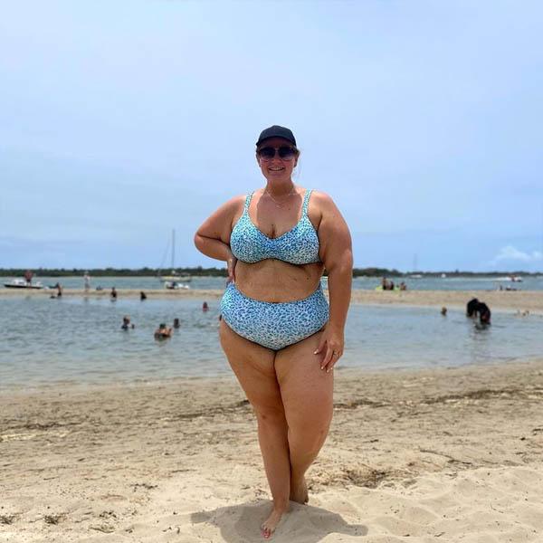 Artesands Curve Plus Size Bikini Top