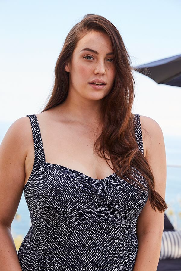 FIGARO BLACK DELACROIX SWIMDRESS