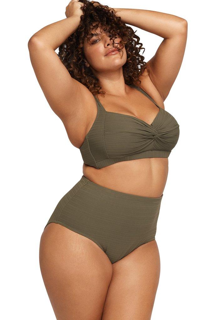 Artesands Aria Olive Botticelli Bikini Top