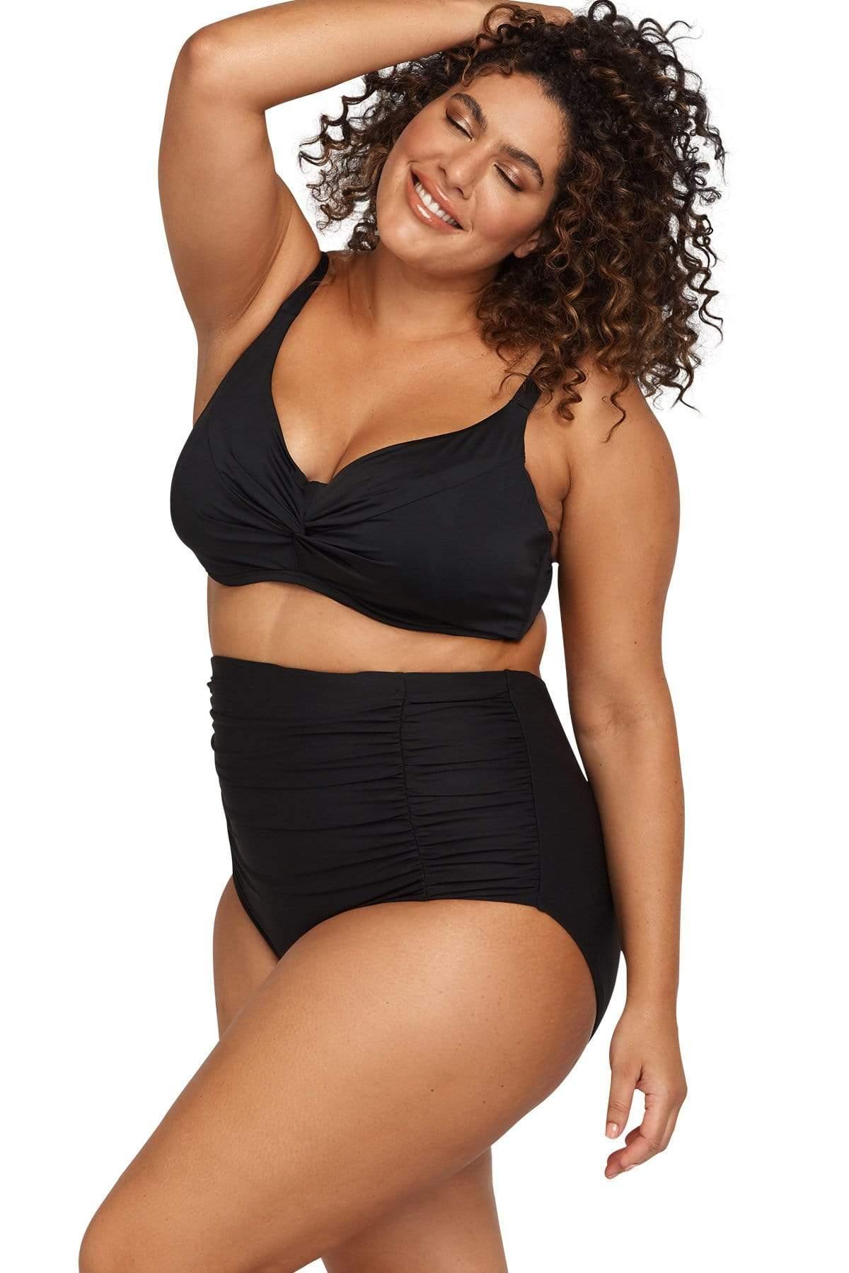 Hues Monet Soft Cup Underwire Bikini Top