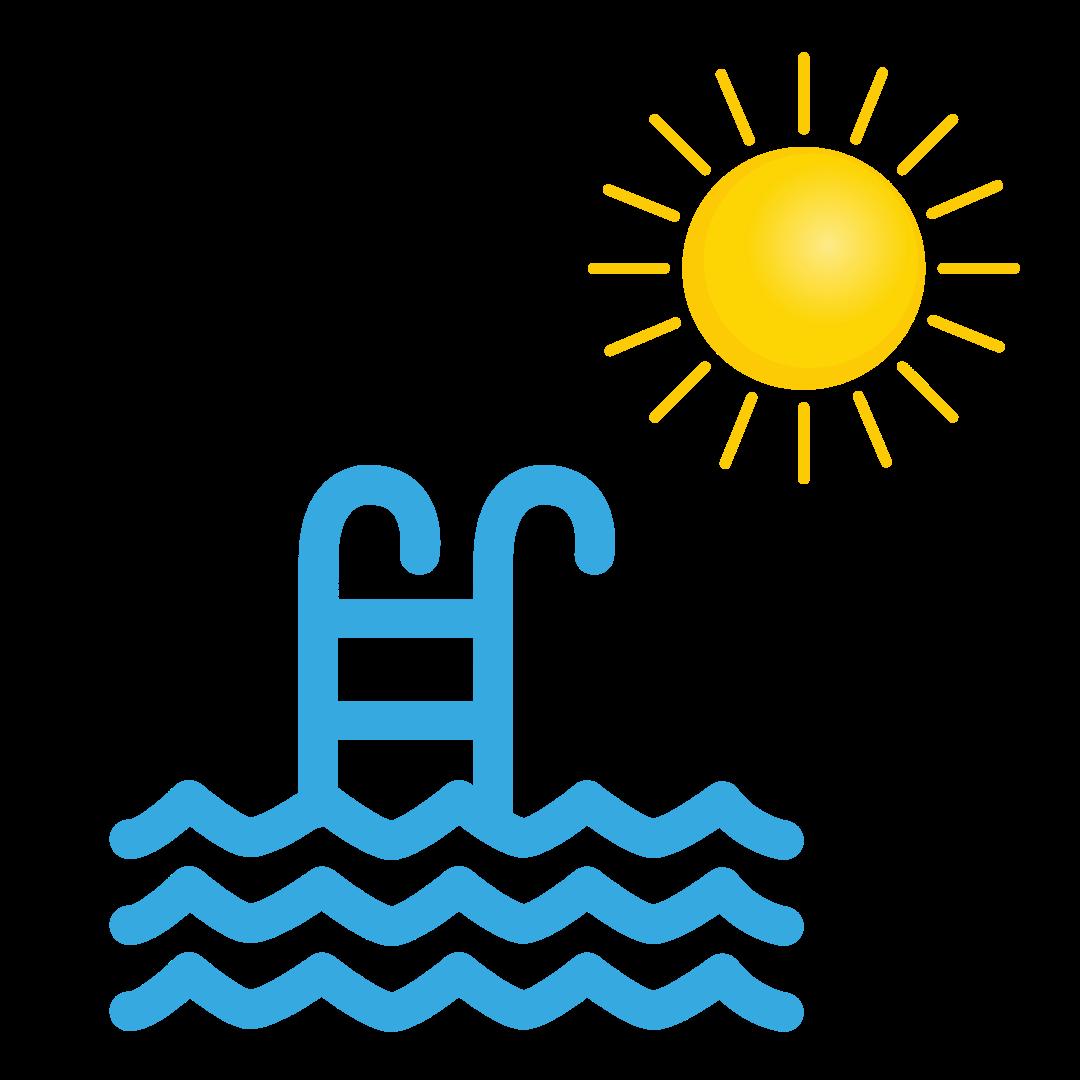 Sol, saltvand og klor udtørrer hud, skæg og hår