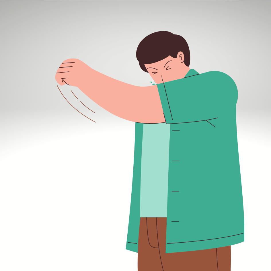 Smitter forkølelse kun ved hoste eller nys?
