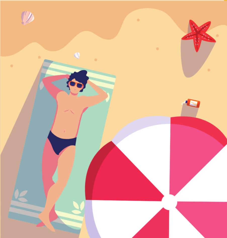 Tager brun hud også skade af solen?