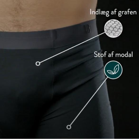 Hvad gør Grafentech-boxershorts unikke?