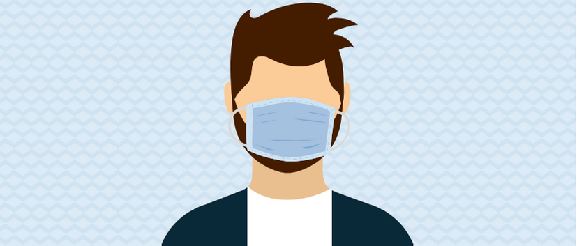 Mundbind og skæg eller hudproblemer