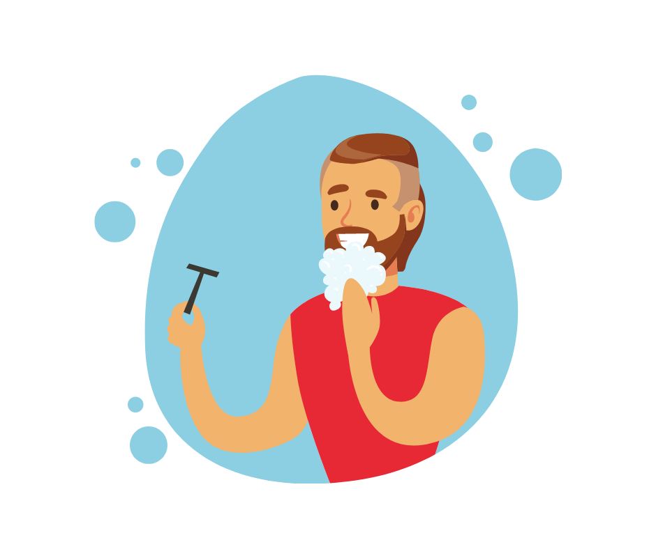 Gror skæg hurtigere efter barbering?