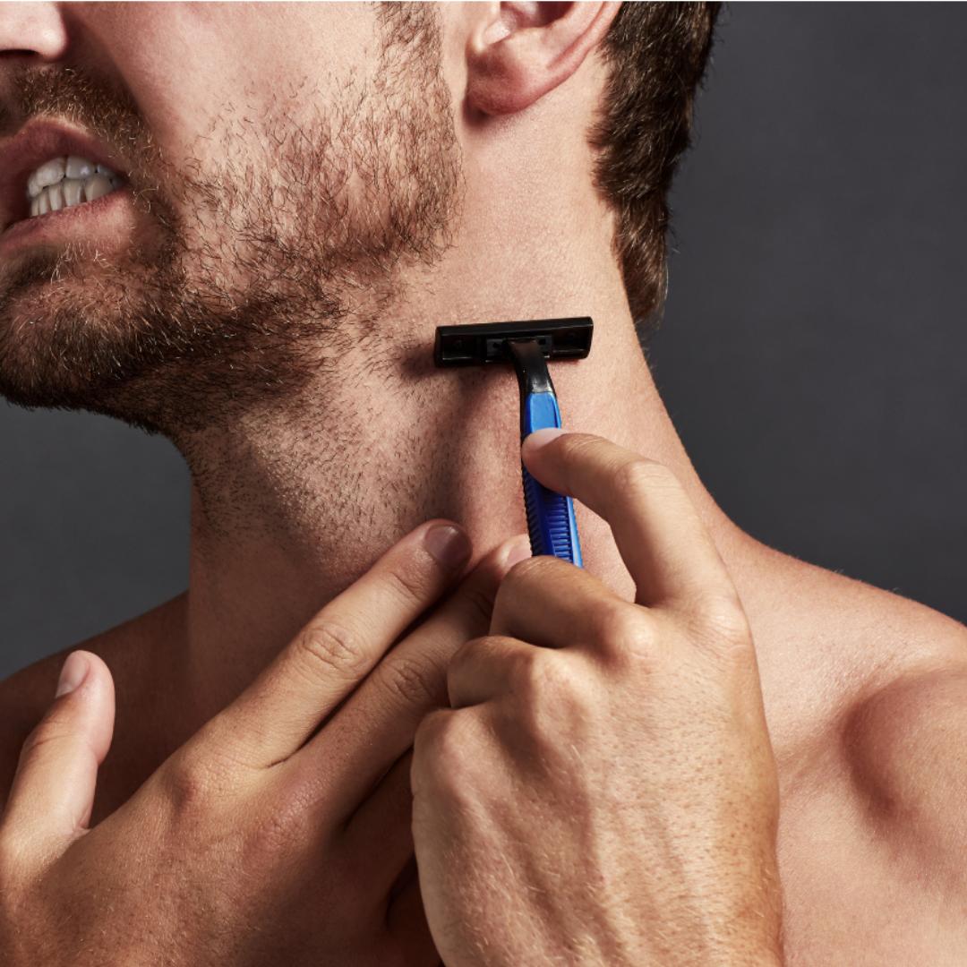 Sådan undgår du røde knopper ved barbering