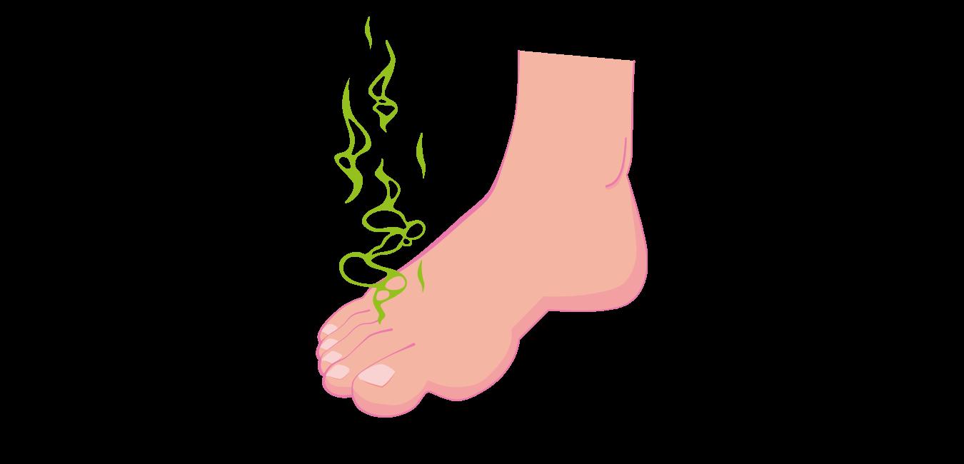Få bugt med sure fødder