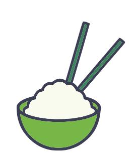 le riz, un glucide complexe