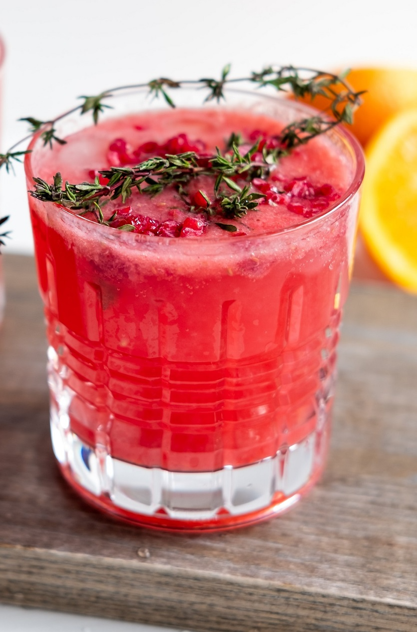 boisson smoothie pastèque fraise citron healthy