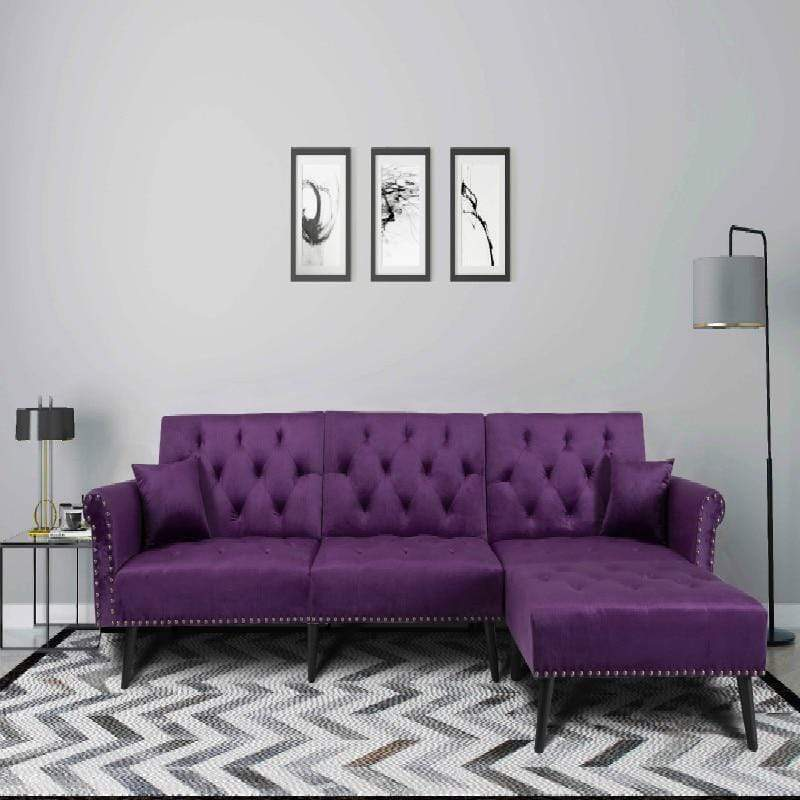 Solid Color Sofa