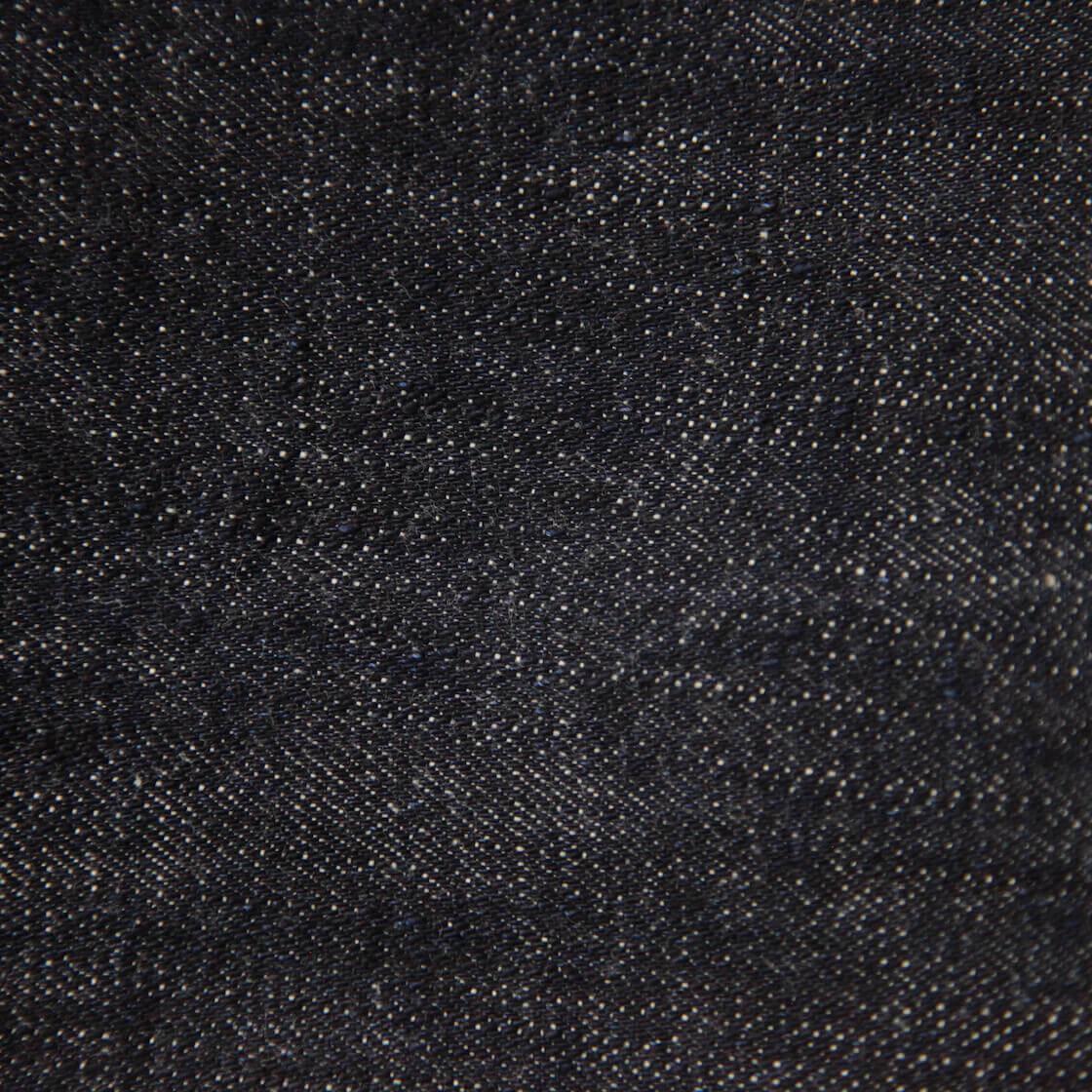 detail image of neppy denim