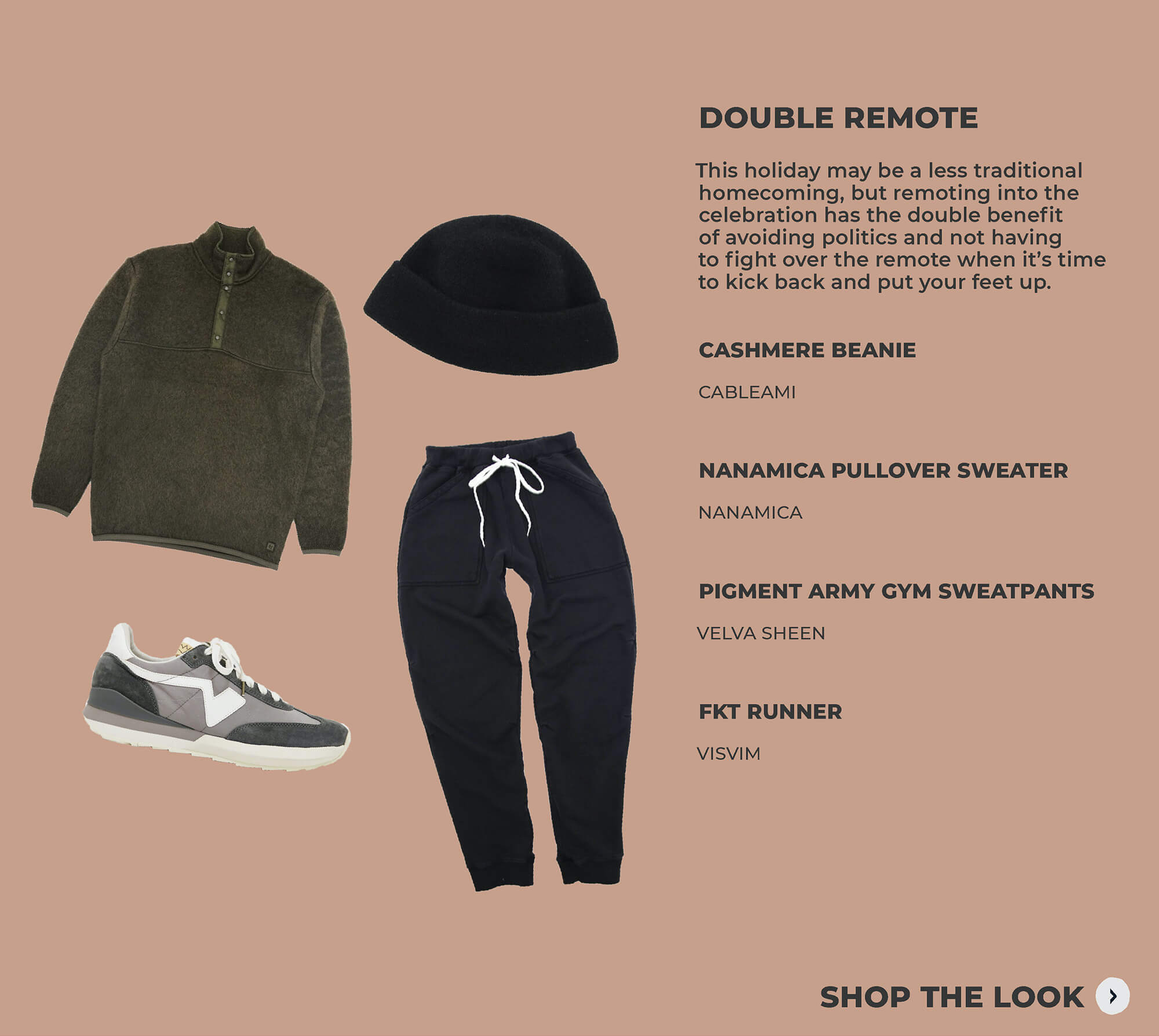 thanksgiving look 4 featuring cableami, nanamica, velva sheen and visvim