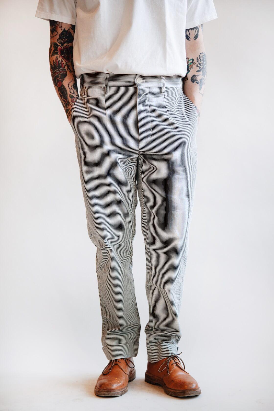 engineered garments andover pants on body