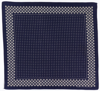 early 20th century indigo bandana dots pattern from the smithsonian collection