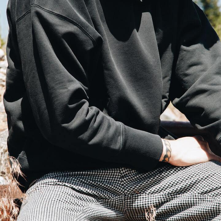 levi's vintage clothing lvc on body