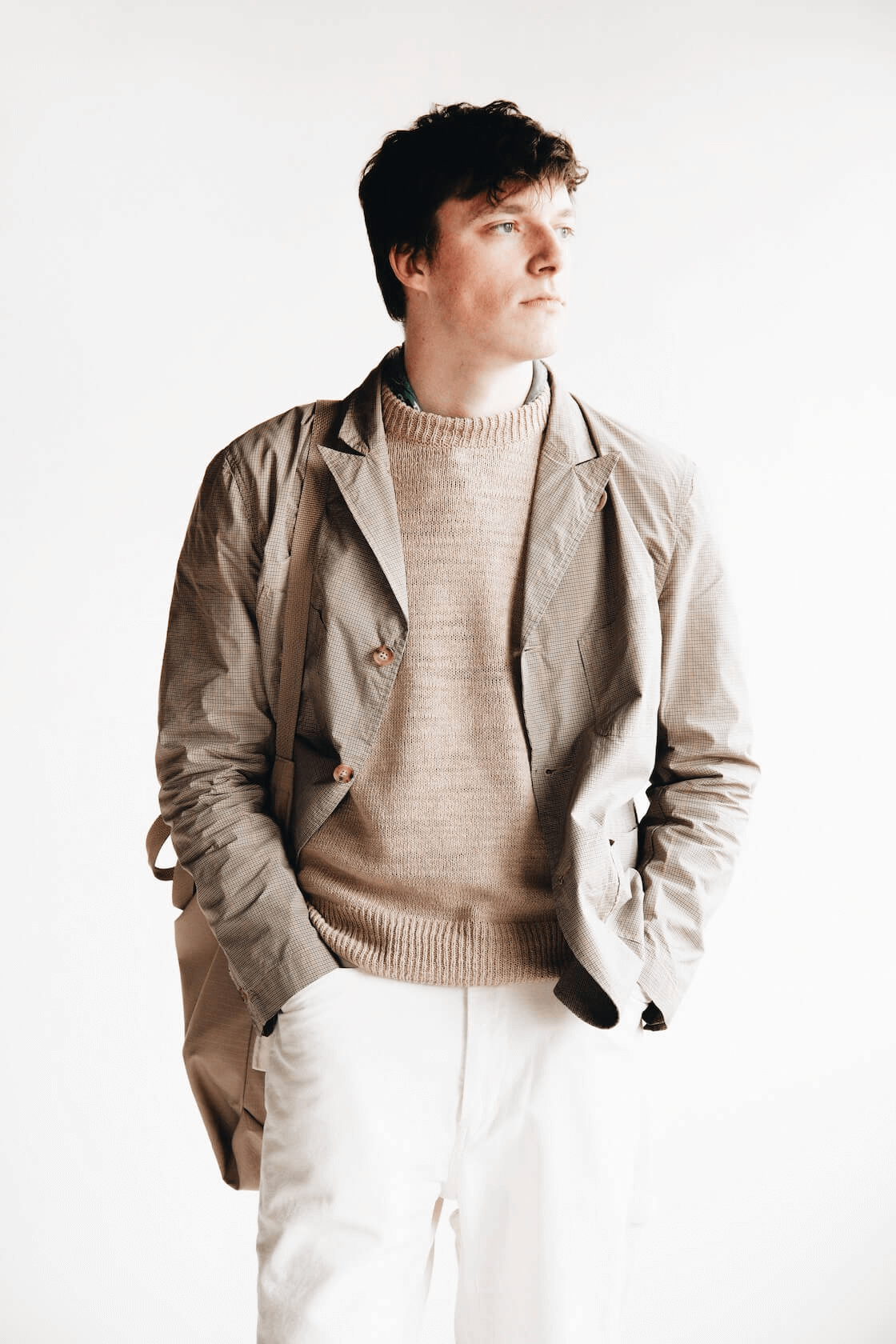engineered garments nb new bedford jacket on body