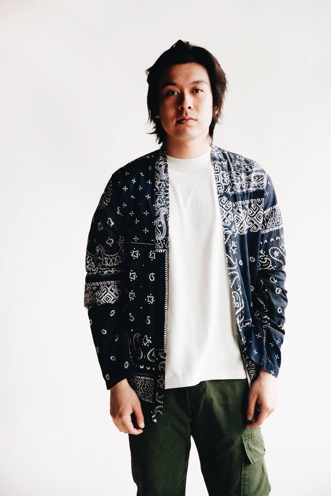 kapital clothing japan bandana inspired garment from ss20