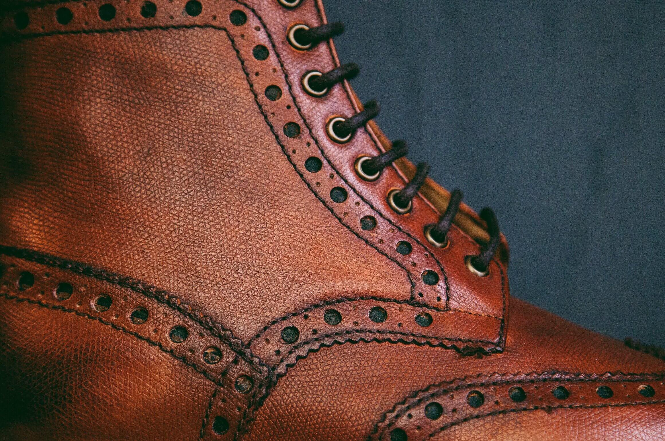 grenson brogue boots