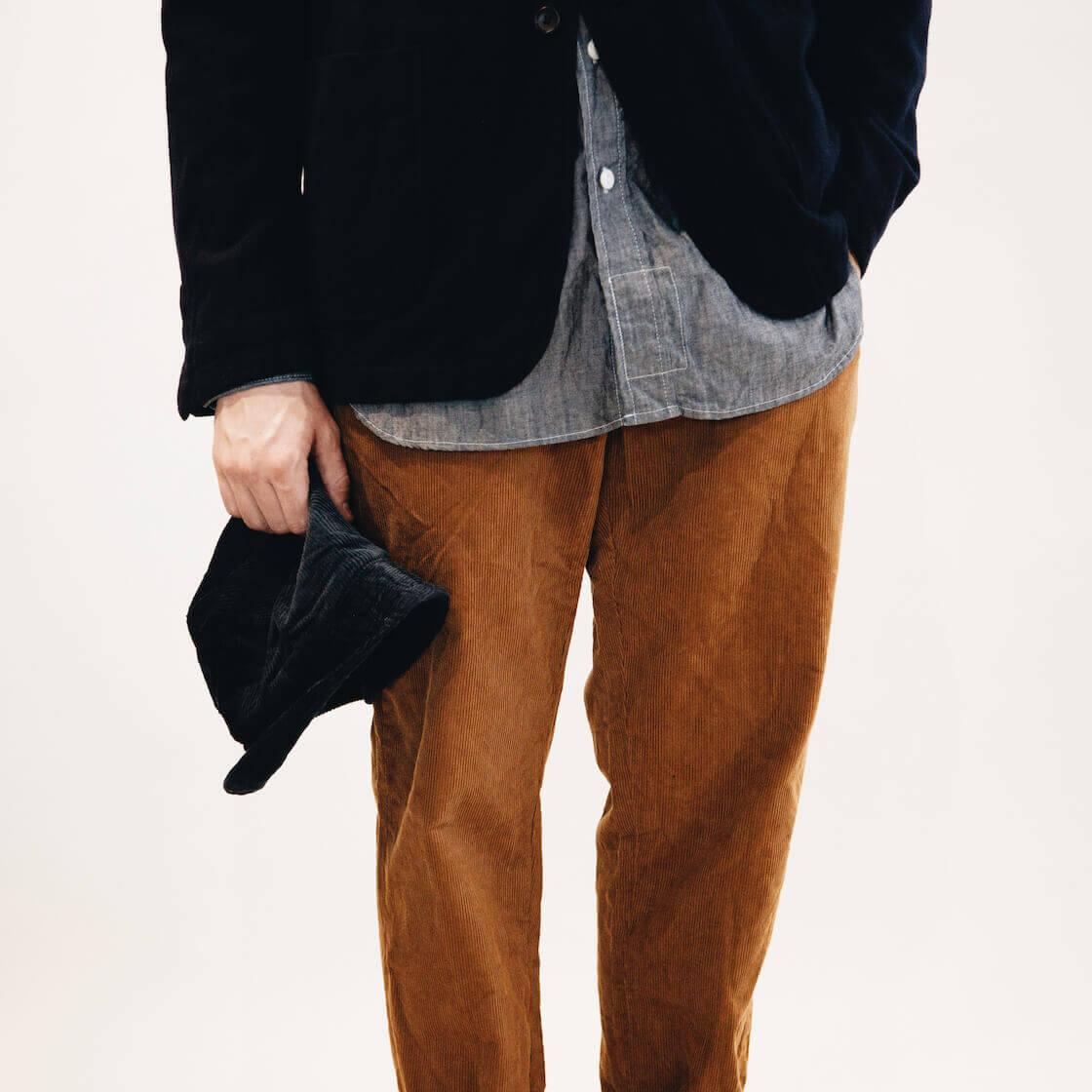 engineered garments bedford jacket on body